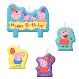 Peppa Pig Candle Set