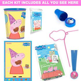 Peppa Pig Deluxe Favor Kit (Each)