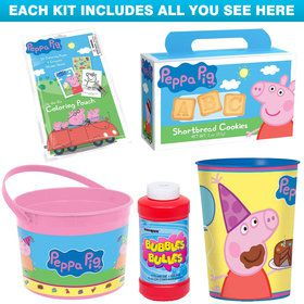 Peppa Pig Favor Kit (For 1 Guest
