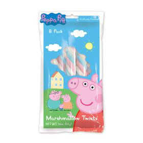 Peppa Pig Marshmallow Twists (8 Pack)