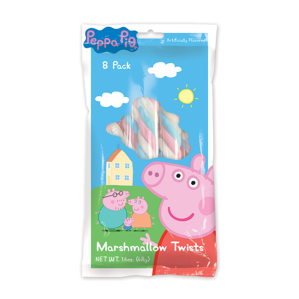 Peppa Pig Marshmallow Twists (8 Pack) BB5018PP