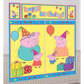 Peppa Pig Scene Setter (5 Total Pieces)