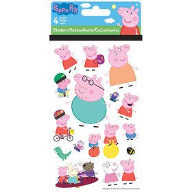 Peppa Pig Stickers (4 Sheets)
