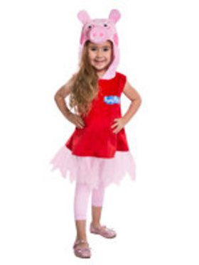 Peppa Pig Toddler Dress with Tulle