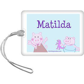 Peppy Pig Personalized Bag Tag (Each)
