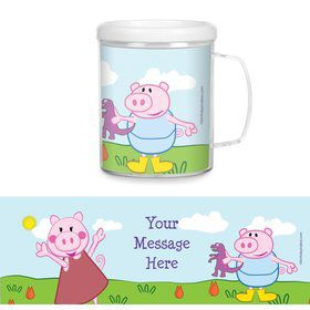 Peppy Pig Personalized Favor Mugs (Each)