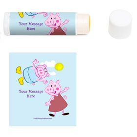 Peppy Pig Personalized Lip Balm (12 Pack)