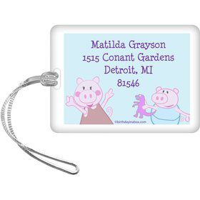 Peppy Pig Personalized Luggage Tag (Each)