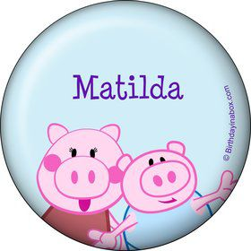 Peppy Pig Personalized Magnet (Each)
