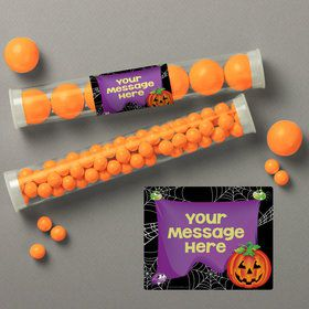 Perfect Pumpkin Personalized Candy Tubes (12 Count)