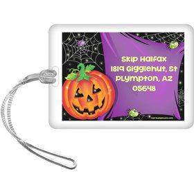 Perfect Pumpkin Personalized Luggage Tag (Each)