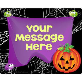 Perfect Pumpkin Personalized Rectangular Stickers (Sheet of 15)