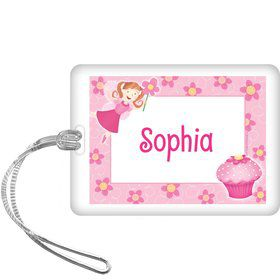 Perfectly Pink Personalized Bag Tag (each)