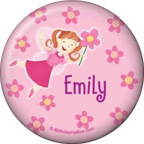 Perfectly Pink Personalized Button (each)