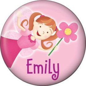Perfectly Pink Personalized Mini Button (each)