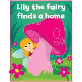 Personalized Fairy Coloring Book (each)