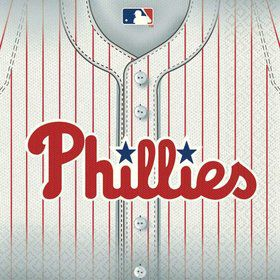 Phillies Luncheon Napkins (36 Pack)