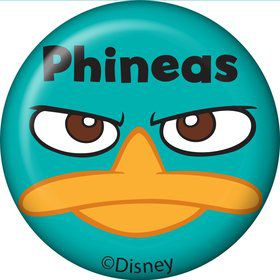 Phineas And Ferb Personalized Mini Magnet (Each)