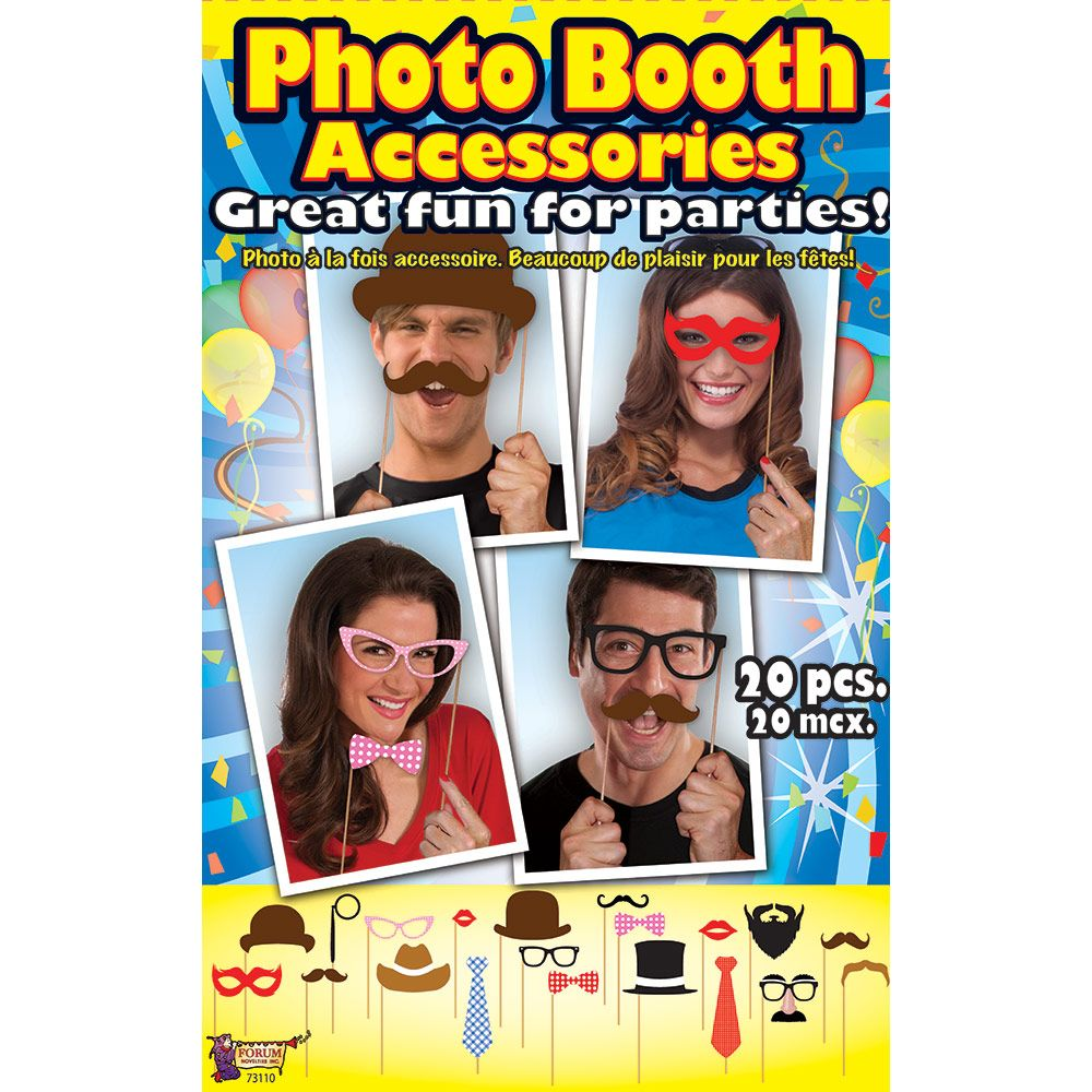 Photo Booth Accessory Kit (20 Pieces) BB73110