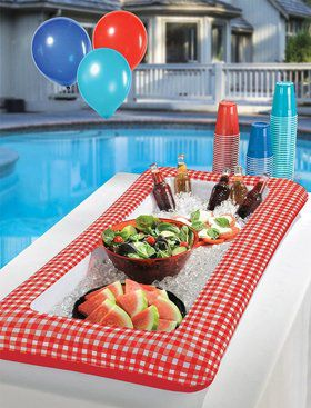 Picnic Party Inflatable Cooler (Each)