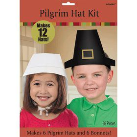 Pilgrim Hat Kit (12 Count)