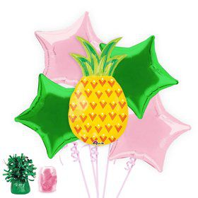 Pineapple Party Balloon Bouquet Kit