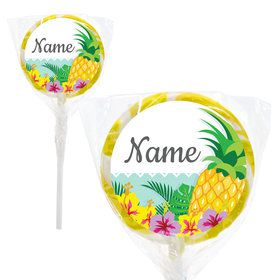 "Pineapple Personalized 2"" Lollipops (20 Pack)"