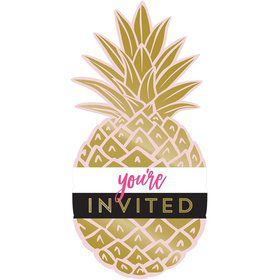 Pineapple Postcard Invitation (8)
