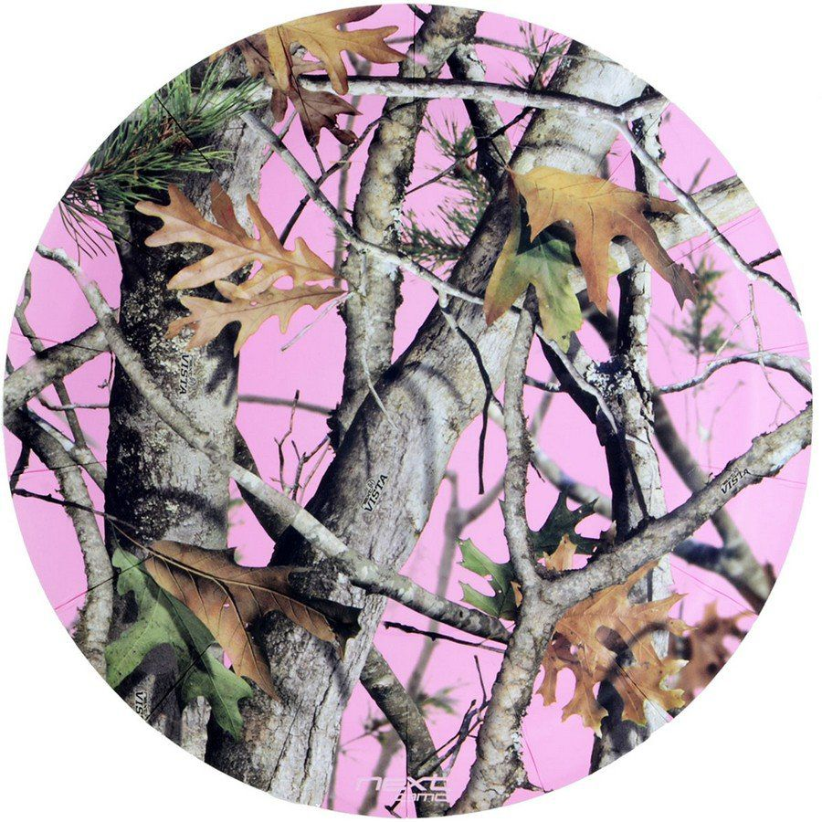 Pink camo plates round pink camouflage party supplies for Pink camo decorations
