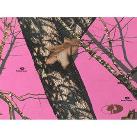 Pink Camo Invitations (8 Pack)