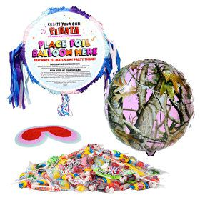 Pink Camo Pinata Kit (Each)