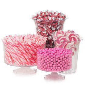 Pink Candy Buffet Decorating Kit (Each)