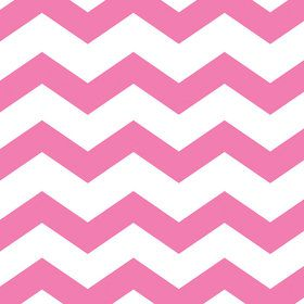 Pink Chevron & Dots Luncheon Napkins (16 Count)