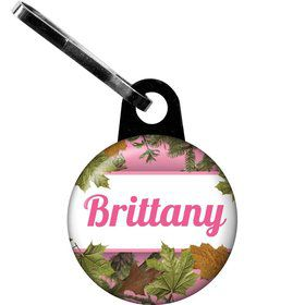 Pink Cover Personalized Mini Zipper Pull (each)