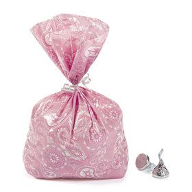 Pink Cowgirl Cellophane Bags (12)