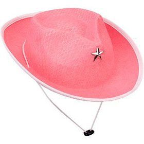 Pink Cowgirl Hat (each)