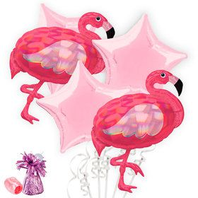 Pink Flamingo Balloon Bouquet Kit