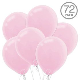 Pink Latex Balloons (72 Count)