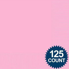 Pink Luncheon Napkins (125 Pack)