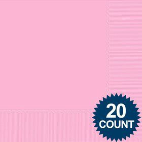 Pink Luncheon Napkins (20 Pack)
