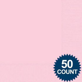 Pink Luncheon Napkins (50 Pack)