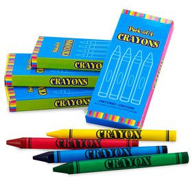 Primary Crayon Boxes (8 Count)