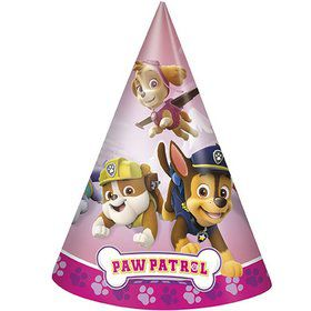 Pink Paw Patrol Cone Party Hat (8)