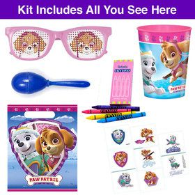 Pink Paw Patrol Favor Goodie Bag
