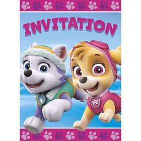 Pink Paw Patrol Invitation (8)