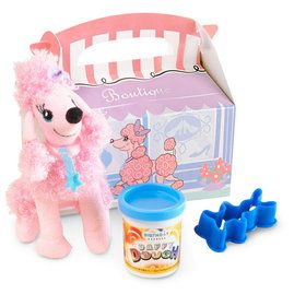 Pink Poodle 2nd Favor Box (4-Pack)