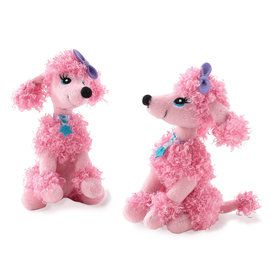 Pink Poodle Mini Plush (Each)