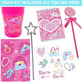 Pink Princess Favor Kit