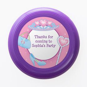 Pink Princess Party Personalized Mini Discs (Set of 12)