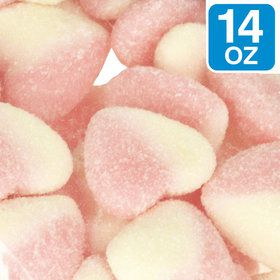 Pink Sour Hearts 14 oz Bag (Each)